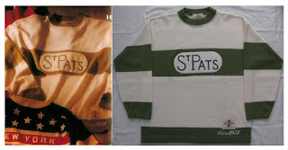 NHL CCM Heritage Jersey Collection - Toronto St. Pats circa 1923
