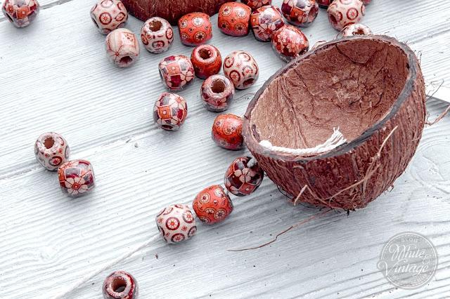 Basteln mit Kokosnussschalen