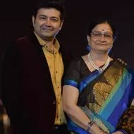 Heital Puniwala with her mother