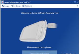 Lumia Software Recovery tool 5.0.8