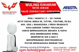 Info lowongan kerja Wuling Arista Sukabumi