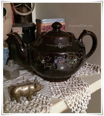 Grandma Kephart's Teapot - Tuesday Treasures