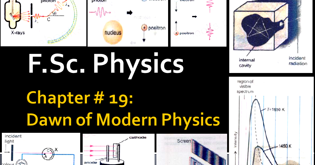 F.Sc. Physics Chapter 19 Numerical of DAWN OF MODERN ...