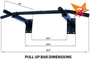 Xà đơn đa năng Wall Pull Up Bar P90X chính hãng