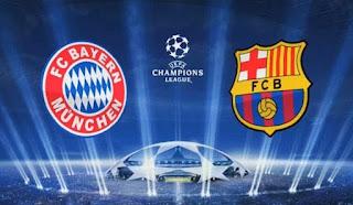 تقديم مباراة برشلونة وبايرن ميونخ بث مباشر أون لاين في بطولة دوري ابطال أوربا الأسطورة لبث المباريات