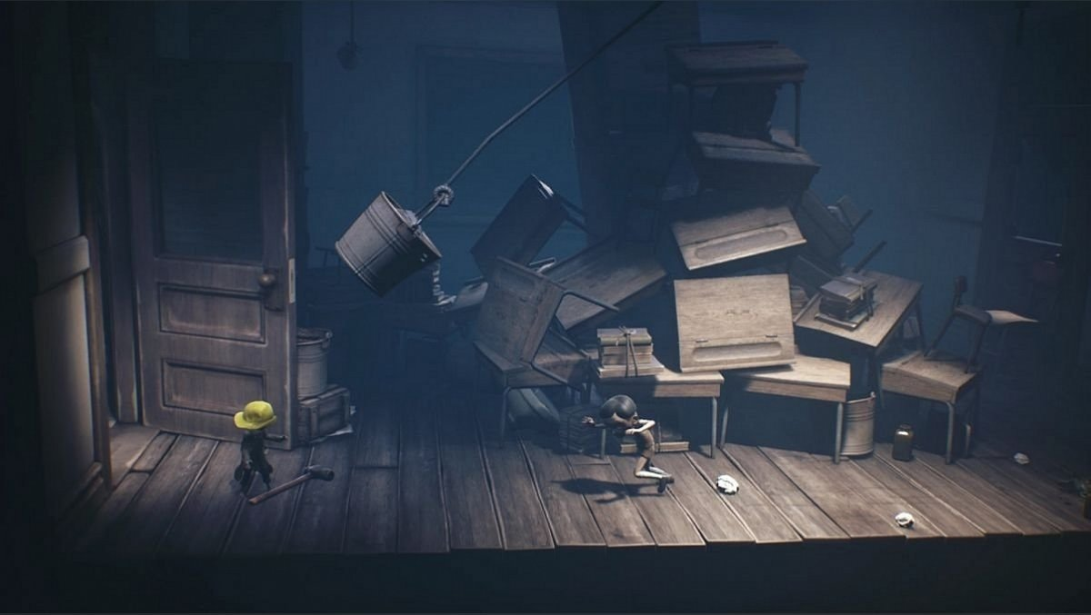 Walkthrough Little Nightmares 2 levels - solving riddles and puzzles