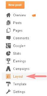 Add Facebook Widget To Blogger Layout
