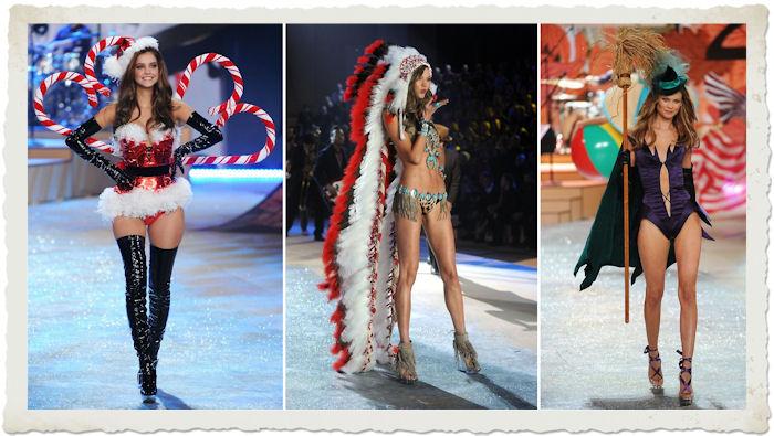 Barbara Palvin, Karlie Kloss, Behati Prinsloo durante il Victoria's Secret Fashion Show 2012