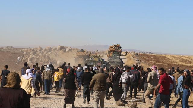 Η εισβολή της Τουρκίας στη Συρία εκτόπισε 200.000 ανθρώπους