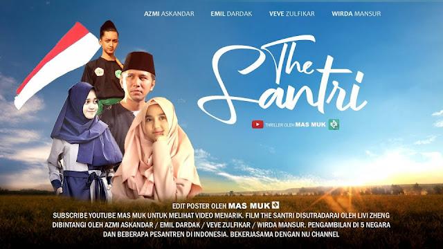 Ada Pesan Liberalisasi dan Agenda Busuk Disusupkan Dalam Film The Santri? Pro Kontra Film The Santri