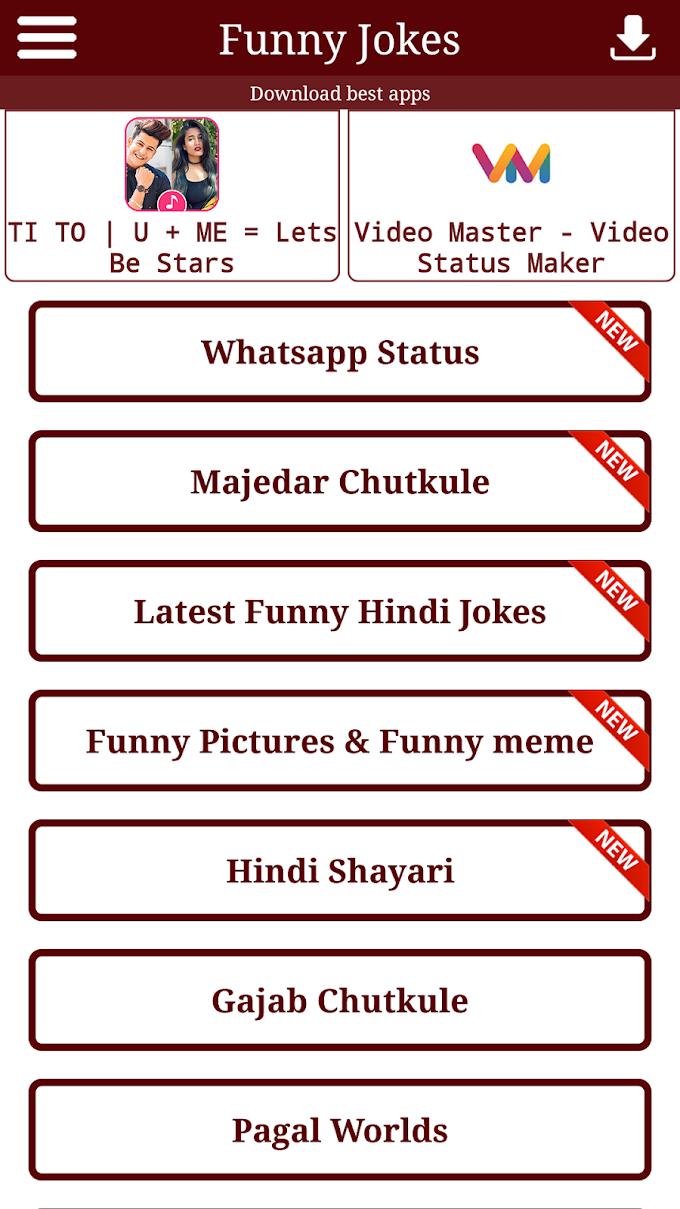 Latest Funny Jokes For WhatsApp: Hindi Jokes Apk - Download
