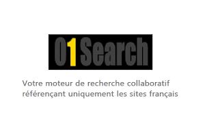Votre moteur de recherche référençant les sites français - www.01search.com
