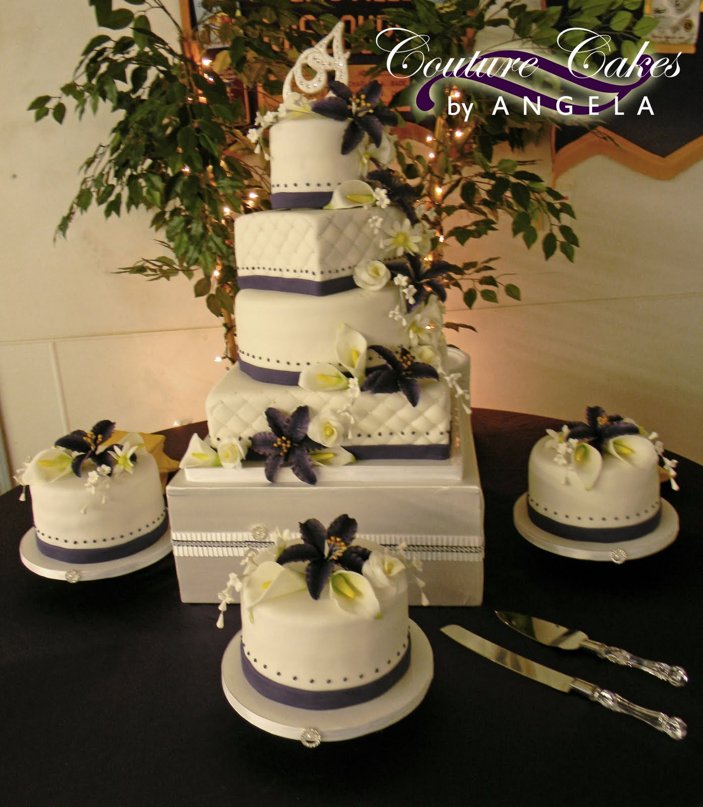couture cakes by angela a stunning country wedding in the heart of the ozarks. Black Bedroom Furniture Sets. Home Design Ideas