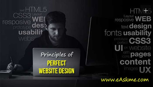 Principles of Perfect Website Design: eAskme