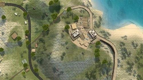 Nameless Island là khu vực nhảy dù khá an toàn trong Free Fire