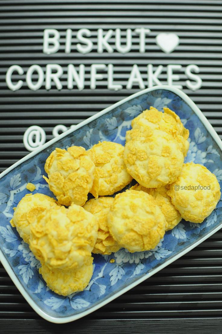 biskut cornflakes sedap