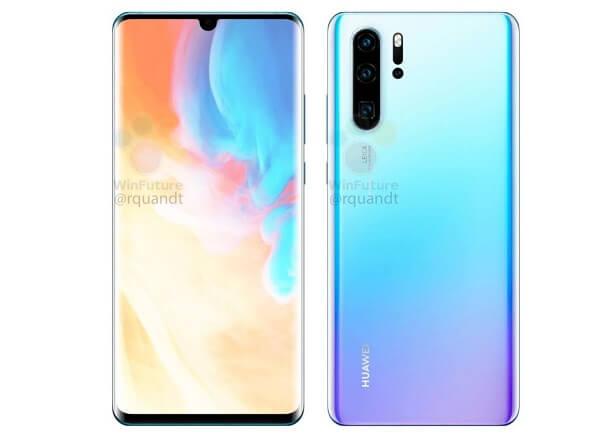 هذا هو ما يبدو عليه هاتف Huawei P30 Pro