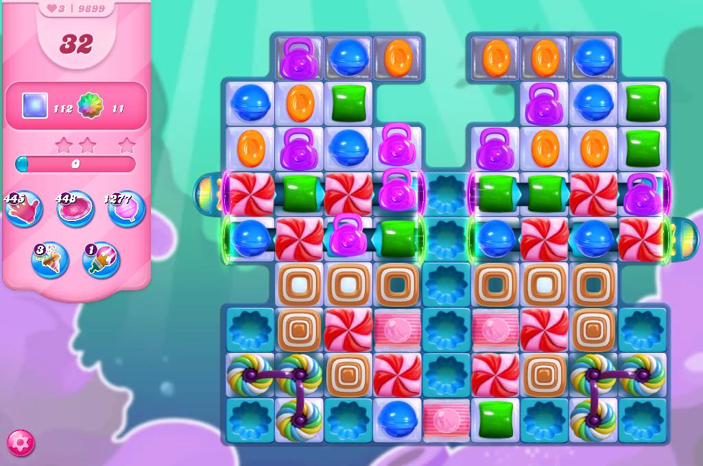 Candy Crush Saga level 9899