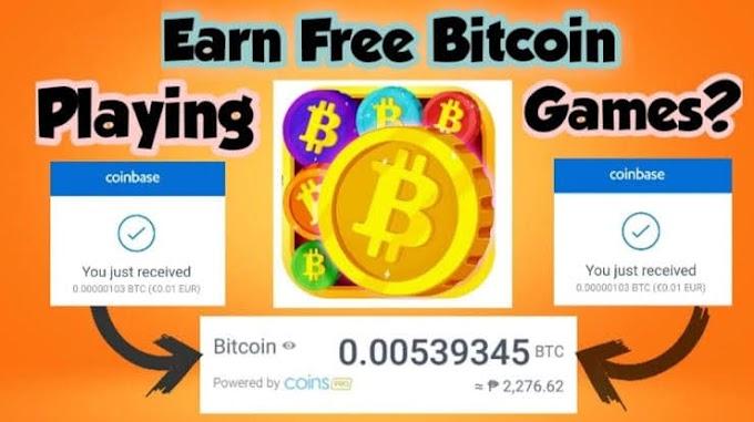Games that Earn Bitcoin { 97$/ hr }
