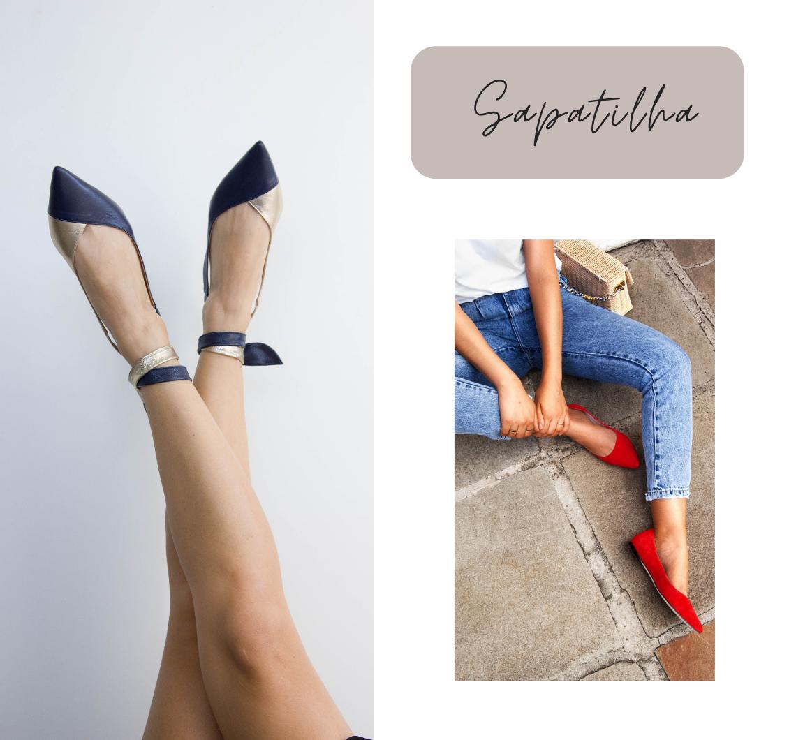 Queridinhos das famosas e perfeitos para qualquer look, os sapatos nude nunca saem de moda. A cor é considerada super elegante além de ajudar a alongar a silhueta.