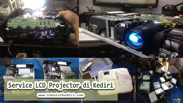 jasa perbaikan lcd proyektor paling murah di kediri