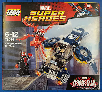 LEGO Marvel Carnage's SHIELD Sky Attack Set 76036 Review
