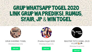 Grup Whatsapp Togel