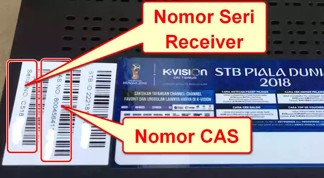Nomor STB ID K-vision Bromo C2000