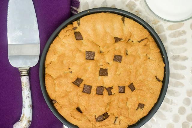 Air Fryer Chocolate Chip Cookie