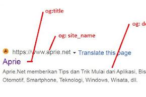 Apa itu Open Graph tags?