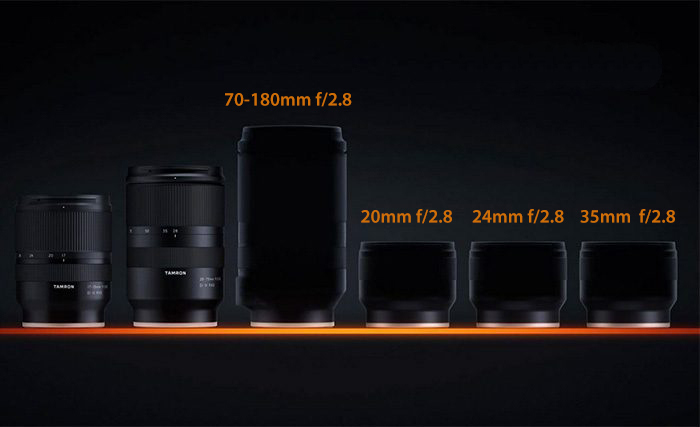Линейка оптики Tamron для камер с байонетом Sony E