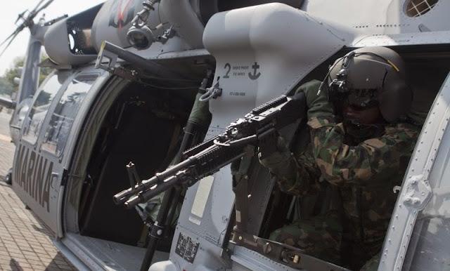 15 Sicarios del CJNG que intentaron tumbar otro Helicóptero a Militares en Narcocampamento son detenidos y procesados