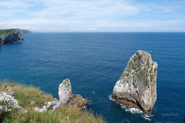 Islotes de Palo verde - Senda Costera Ribadesella a Cuerres