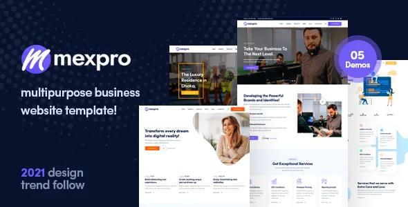Best Multipurpose Business HTML Template