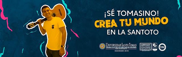 Abren inscripciones en Universidad Santo Tomás.