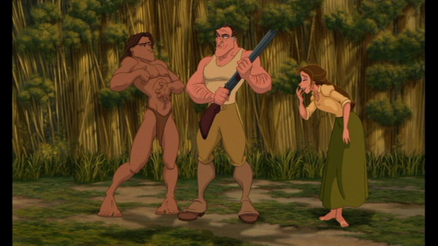 Tarzan Clayton Jane Tarzan 1999 animatedfilmreviews.blogpspot.com