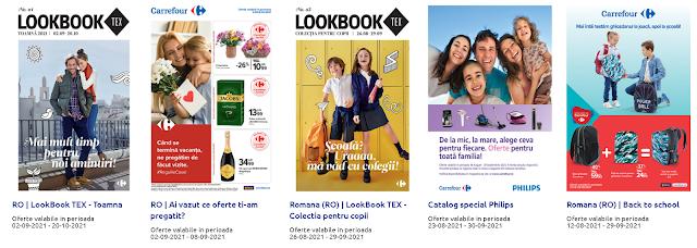 CARREFOUR Cataloage - Brosuri 02-08.09 2021 →  BACK to SCHOOL   Reducere la produsele preferate