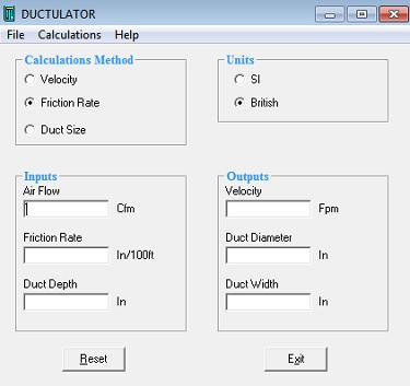 تحميل برنامج ductlator