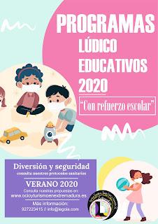 Programas Lúdico Educativos 2020