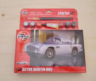 maqueta Aston Martin DB5 de arfix