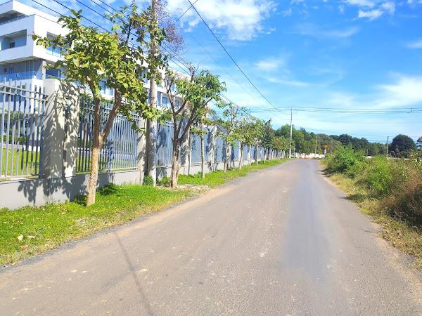 hình ảnh đường vào vị trí đất đang bán tại Hồ Tràm Vũng Tàu