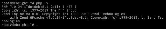 Php Versi 7 di Debian