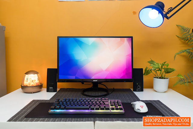 how to make a clean desk setup