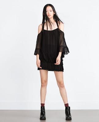 Top transparent Zara