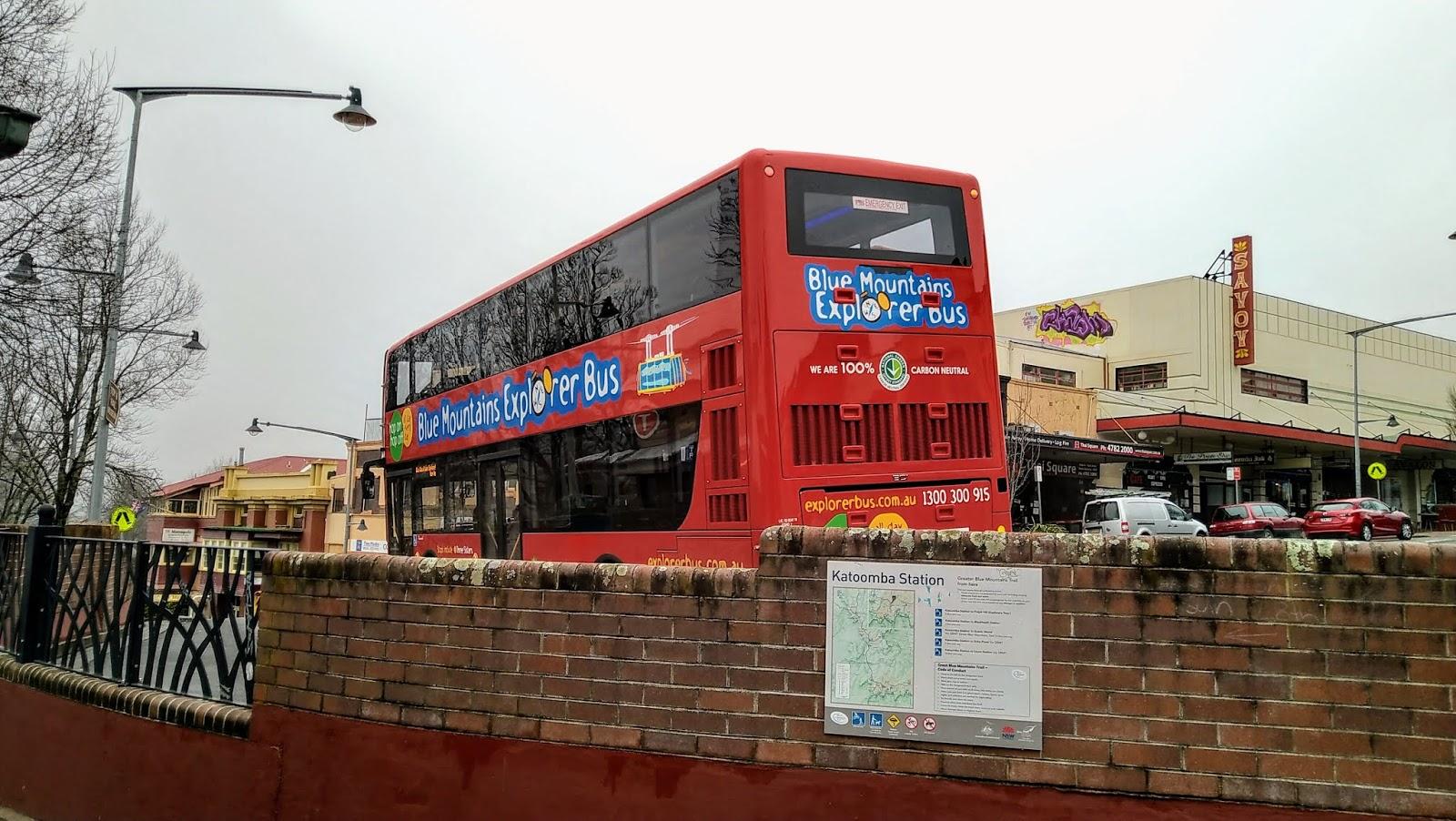 Bus Wisata, Katoomba, Sydney, New South Wales, Australia, irfan-room.com