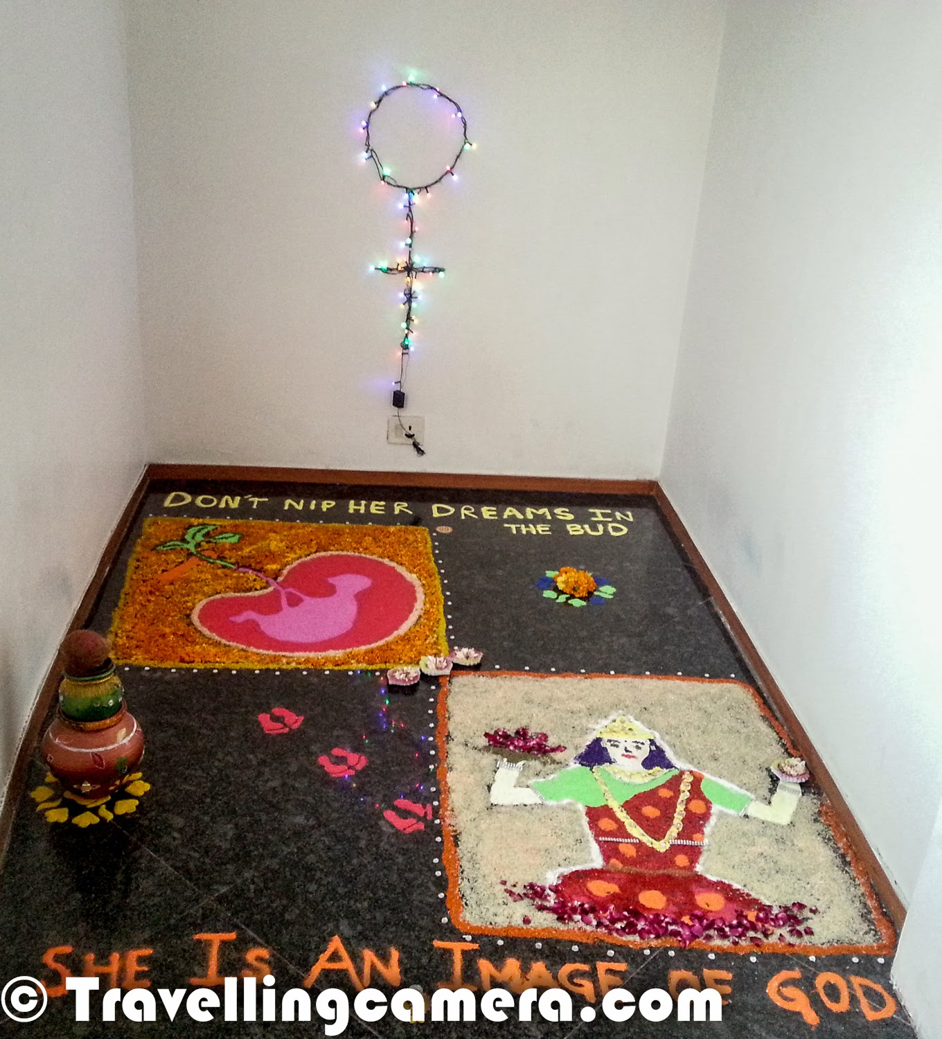 New Home Designs Latest October 2011: Diwali Rangoli - Art At Adobe