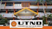 Biaya Kuliah Kelas Karyawan Universitas Tjut Nyak Dhien Tahun 2020-2021