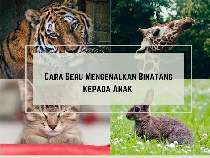 Cara Seru Mengenalkan Binatang Kepada Anak