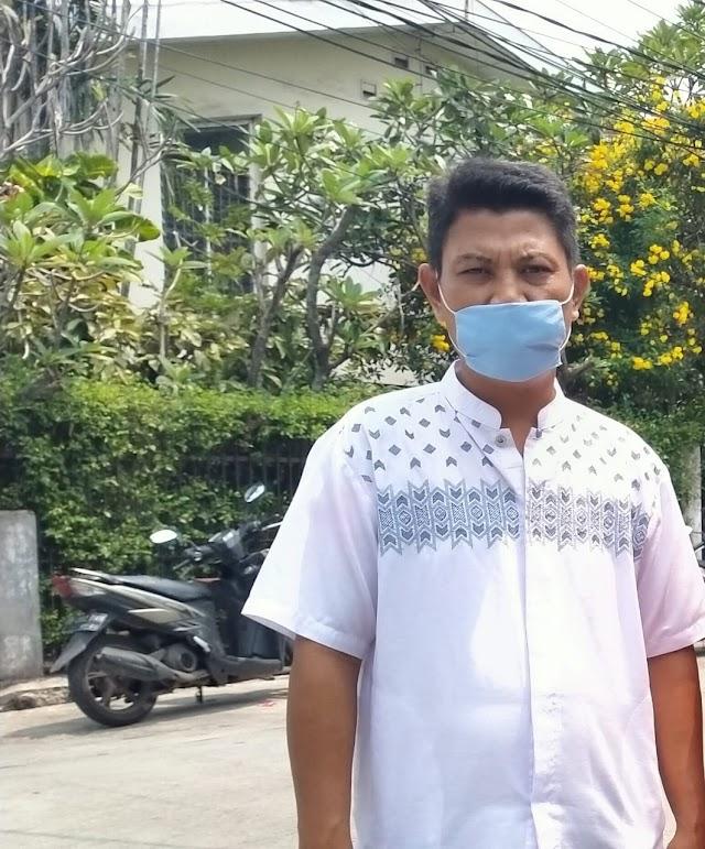 RW. 12 Duri Kepa Lakukan Penyemprotan Disinfektan