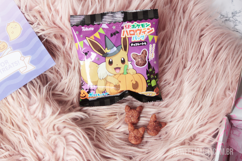 Doces japoneses pokemon - Kawaii Box Resenha